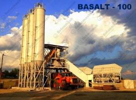 Быстромонтируемая бетоносмесительная установка «БАЗАЛЬТ-100»