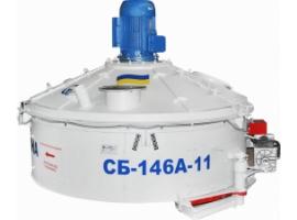 Бетоносмеситель роторный СБ-146А-11