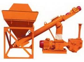 Установка для выгрузки цемента из хопров В-283-031