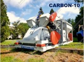 Мобільний бетонний завод карбон-10