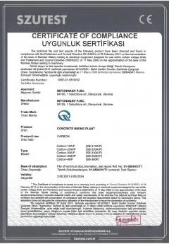 Certyfikat Carbon
