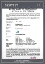 Certificate of compliance Granite Betonmash