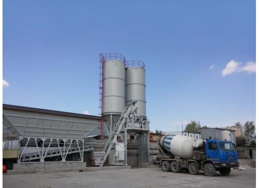 Быстромонтируемая бетоносмесительная установка «ГРАНИТ-60Д»