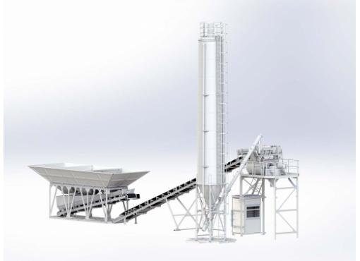 Бетоносмесительная установка «БАЗАЛЬТ-60Д»