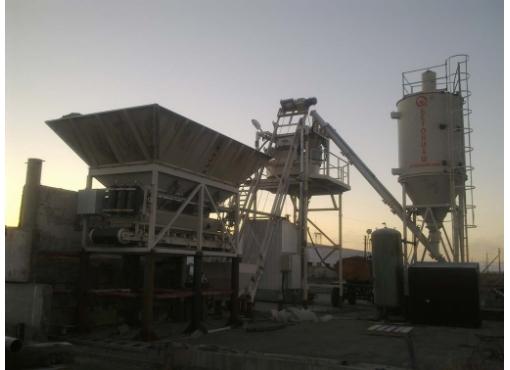 Мобильная бетоносмесительная установка «ГРАНИТ-42»