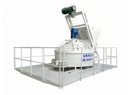 Бетоносмесительный блок СБ-242-6-04