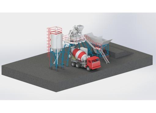 Швидкомонтована БЗУ 25 м.куб/год