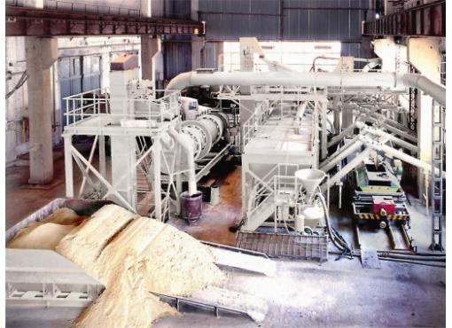 Dry building mixes plant SB-240